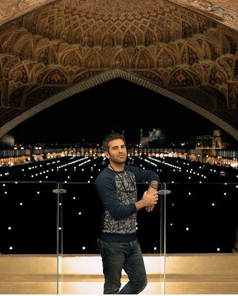 هوتن شکیبا در میدان نقش جهان اصفهان + عکس