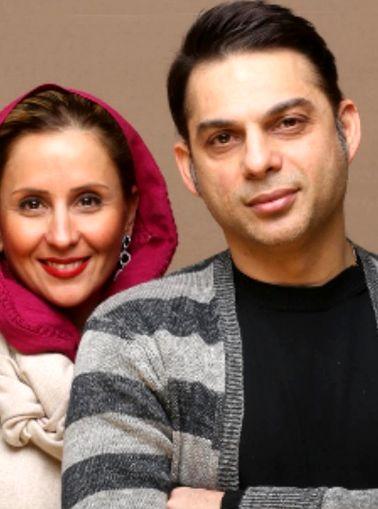 عکس پیمان معادی و همسرش در سالگرد ازدواجشان