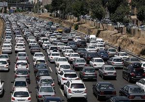 ترافیک سنگین عصرگاهی در اکثر معابر شهر تهران