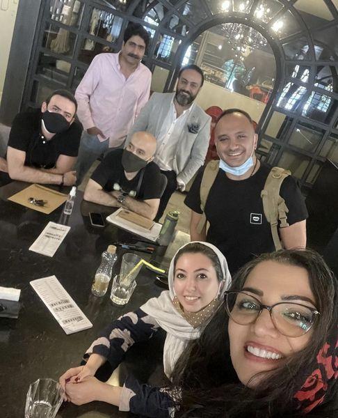 دورهمی الهام پاوه نژاد با دوستانش + عکس