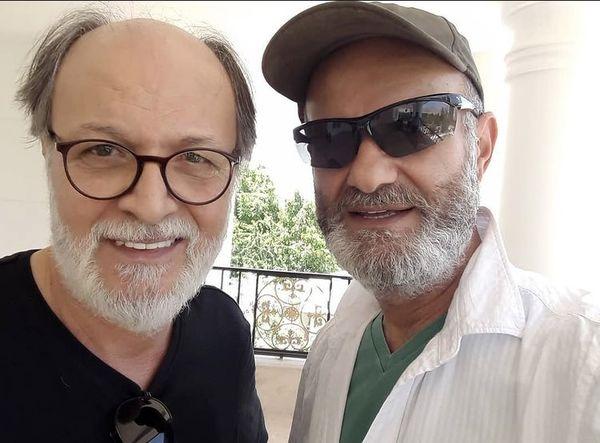 دو بازیگر پیشکوت سینما در کنار هم + عکس