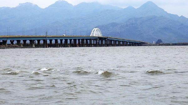 حجم آب دریاچه ارومیه به پنج میلیارد و ۲۵ میلیون متر مکعب رسید
