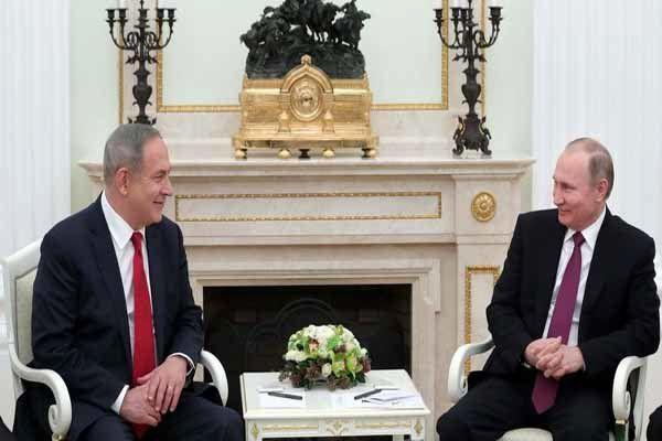 لغو نشست نتانیاهو و پوتین