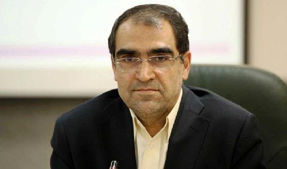 حواشی افتتاح یک بیمارستان در مراغه با حضور وزیر بهداشت