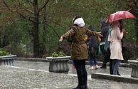 رگبار باران در ۱۷ استان کشور