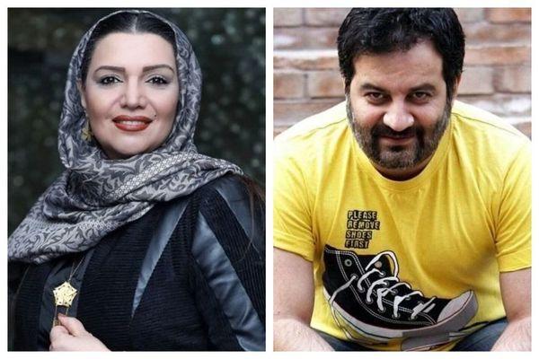 احضاریه دادگاه برای مهراب قاسمخانی و خانم بازیگر+عکس