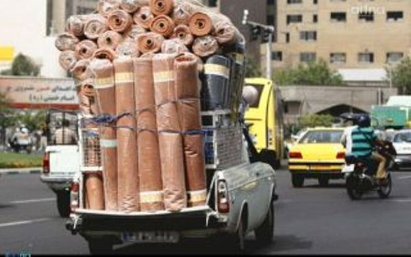 """سازمان """"حمل و نقل بارِ درون شهری"""" در کرمانشاه افتتاح شد"""