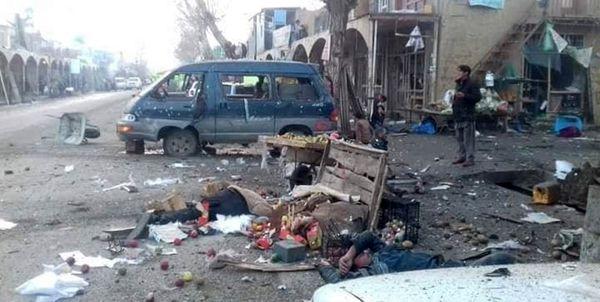 انفجار در مرکز افغانستان