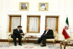 سفیر ژاپن در تهران با ظریف دیدار و خداحافظی کرد