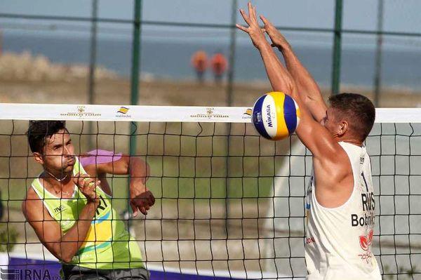 صعود ایران و قزاقستان به نیمه نهایی تور جهانی والیبال