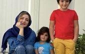 شیلا خداداد در کنار فرزندانش + عکس
