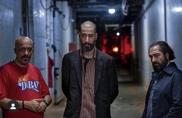 چهره متفاوتی از بهرام افشاری در فیلم جدیدش + عکس