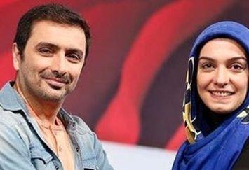 ژِست های عاشقانه زوج مشهور سینمای ایران در یک مراسم/ عکس