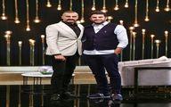 آقای بازیگر خوشتیپ مهمان علی ضیا+عکس