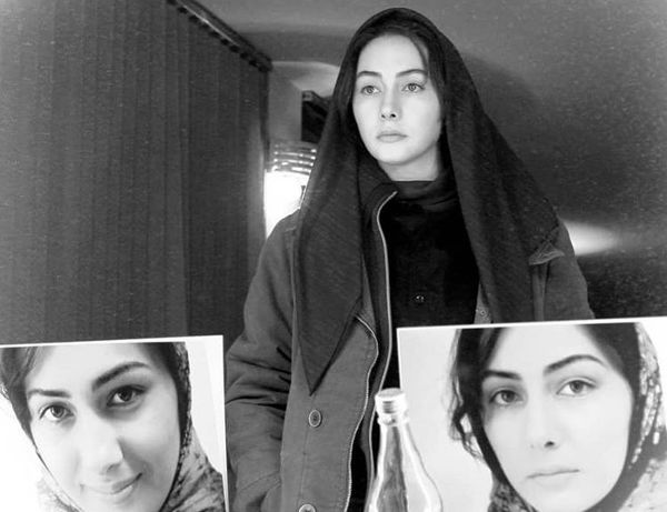 گریم هانیه توسلی در فیلم یک شب + عکس