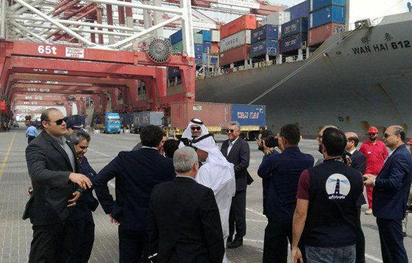 تفاهم نامه مشترک بندر شهید رجایی و بندر حمد قطر امضا شد