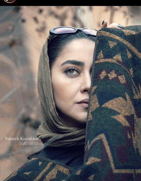 صورت نصفه نیمه بهاره کیان افشار + عکس
