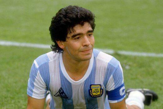 ادای احترام ته وز به دیگو آرماندو مارادونا