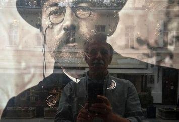 همایون اسعدیان و چخوف در مسکو+عکس