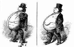 کاریکاتور: تفاوت آدم پولدار و فقیر!