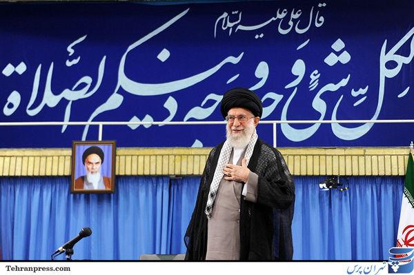 دیدار ائمه جماعات استان تهران با رهبر انقلاب/تصاویر