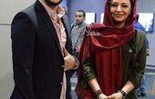 سیاوش خیرابی و همسر بازیگر جواد عزتی در گالری+عکس