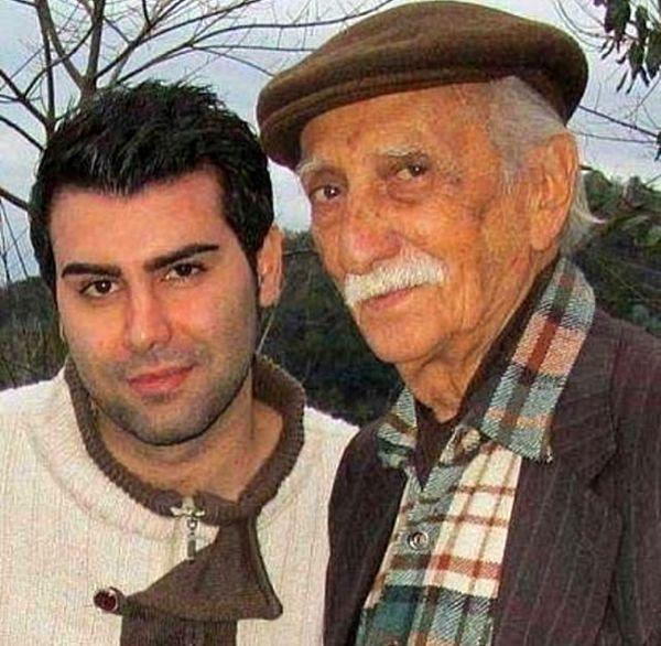مرحوم داریوش اسدزاده و پسر خوشتیپش+عکس