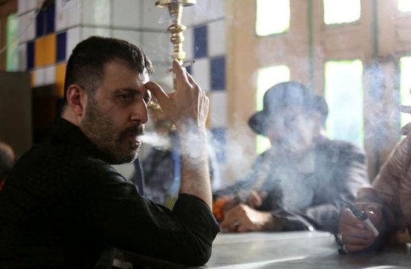 هومن حاجی عبداللهی در لبا خط + عکس