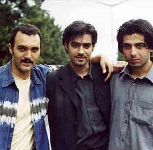 شهاب حسینی و دوستان بازیگرش در جوانی + عکس