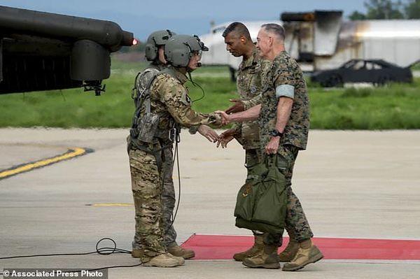 سربازان آمریکایی  در شبه جزیره میمانند!