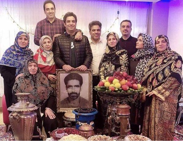 خانواده مذهبی کارگزدان مشهور + عکس