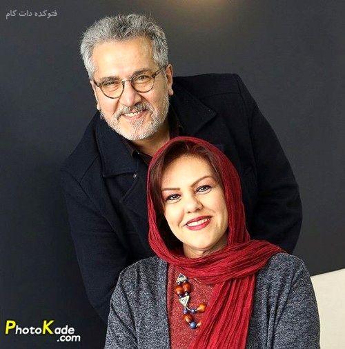 عکس آتلیه ای بازیگر پیشکسوت و همسرش