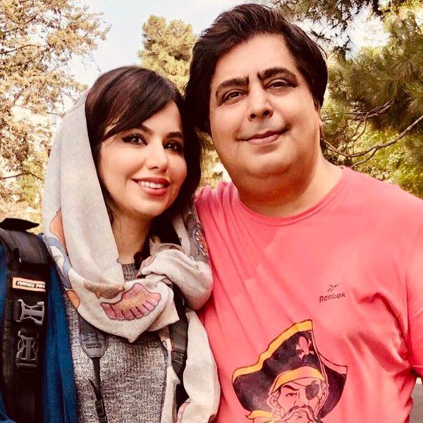 رضا شفیع جم و خواهر عکاسش+عکس