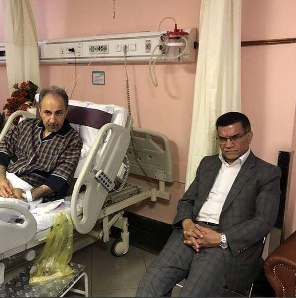 نجفی از بیمارستان مرخص شد