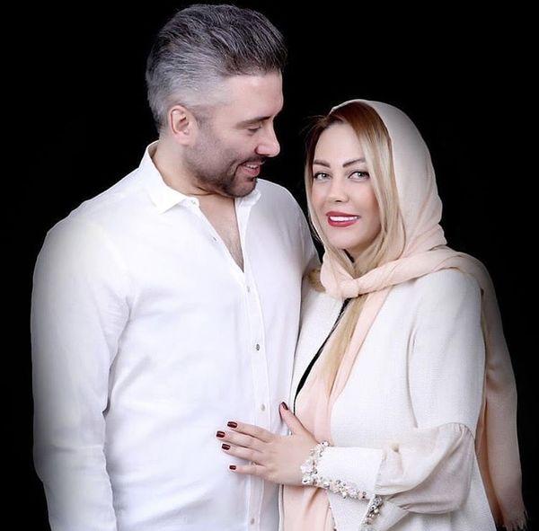 نیما مسیحا و همسرش + عکس