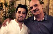 بازیگر زی زی گولو در آغوش آقای مجری + عکس