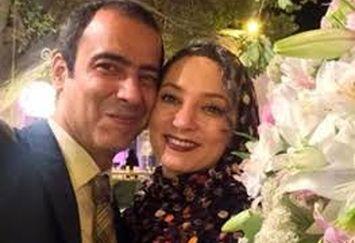 عکس سحر ولدبیگی و همسرش در روز عشق