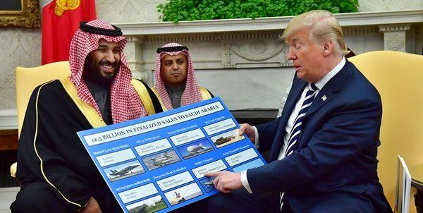مایک پنس: تصمیم تحریم عربستان سعودی با ترامپ است