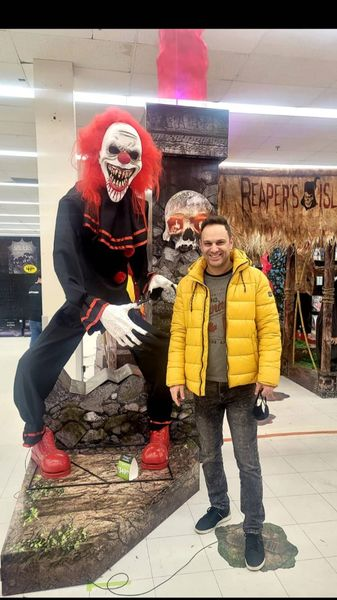 شهروز ابراهیمی در هالووین + عکس