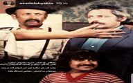 عکسی قدیمی از جمشید مشایخی و مرتضی احمدی