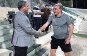 دیدار مدیرعامل پرسپولیس با برانکو و بازیکنان