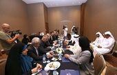 رئیس مجلس قطر با علی لاریجانی دیدار و گفتگو کرد