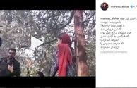اعتراض مهناز افشار به برخورد مامور زن با یک دختر