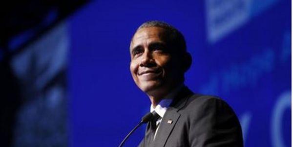 خوانندگی اوباما در نمایش موزیکال «همیلتون»