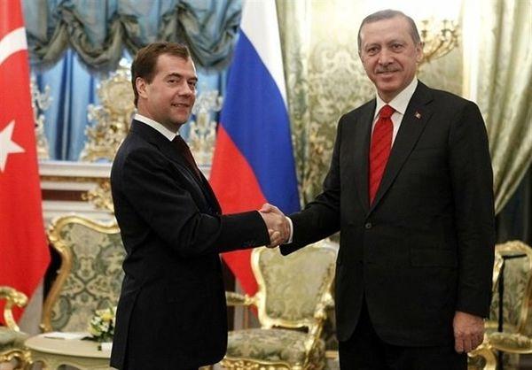 حضور «دمیتری مدودف» در مراسم تحلیف اردوغان