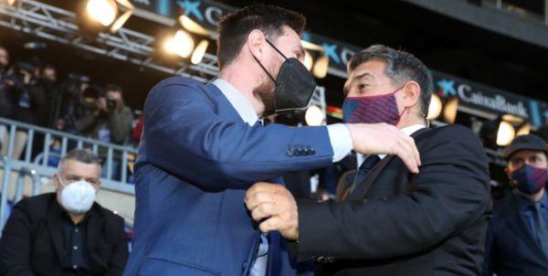 بارسا دست به دامن رئیس لالیگا شد