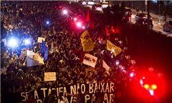 تظاهرات ۱۵۰ هزار نفری در بلوهوریزنته و سالوادور+تصاویر