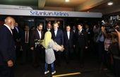لاریجانی وارد فرودگاه بینالمللی کلمبو سریلانکا شد