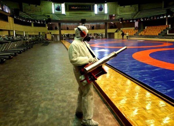 نحوه مقابله با کرونا در ورزشگاه، سالن ورزشی و استخر