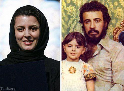 عکس بانمک از کودکی لیلا حاتمی در آغوش کارگردان برجسته کشور